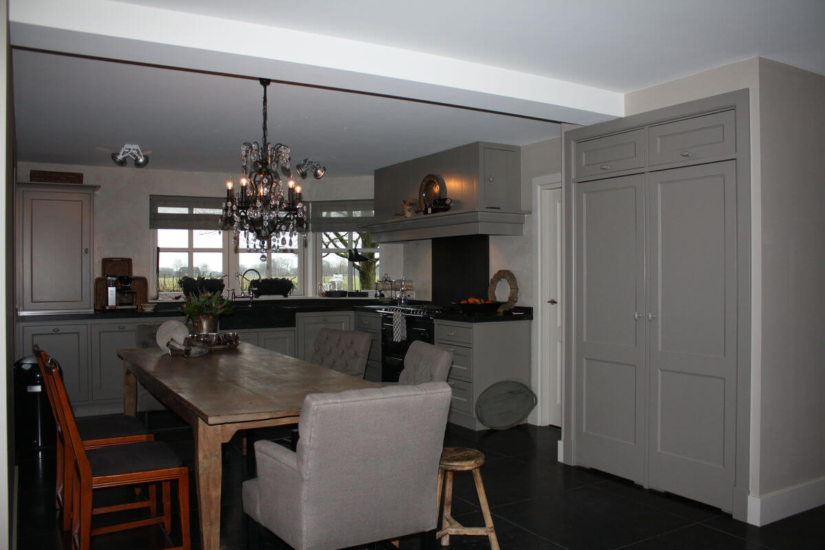 Landelijke stijl keukens landelijke stijl wonen - Moderne keuken stijl fotos ...