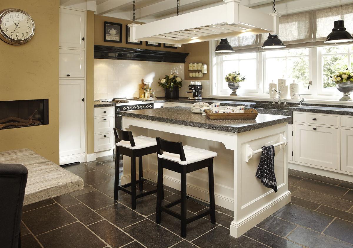 Wonen landelijke stijl landelijke keukens - Keuken stijl ...