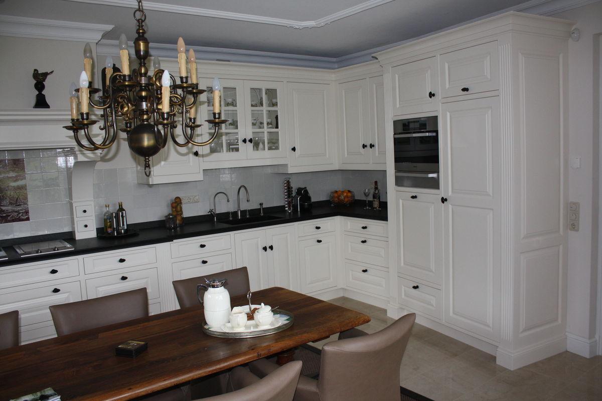 Landelijke Engelse Keukens : Keuken Engelse stijl in Garderen, maatwerk keukens